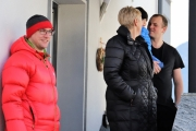 A guets Nuis 2018! – Die Musikkapelle überbrachte ihre Neujahrsgrüße heuer an einem Sonntag
