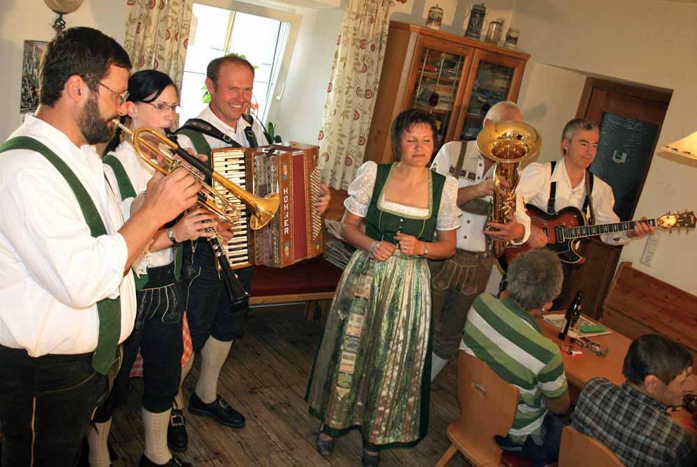 Stiegl-Polka, 100-Jahr-Jubiläum Gasthof Stiegl, Untermieming, Foto: Andreas Fischer