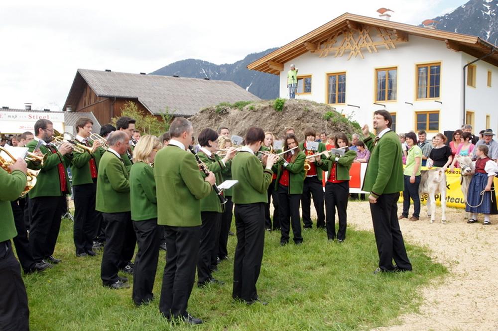 Maifest und Braunviehausstellung, Foto: Elisabeth Fischer