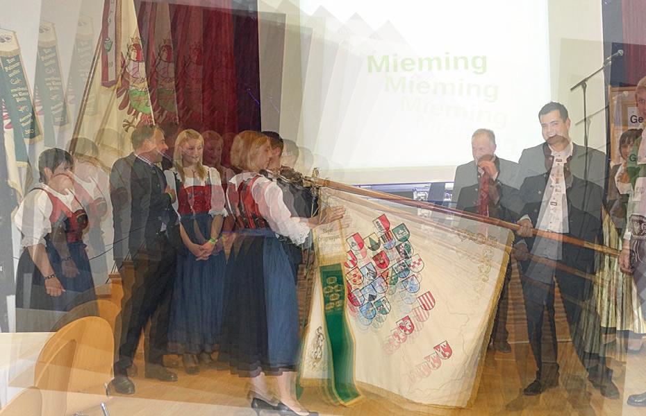 Bezirksjungbauerntag 2014 - Den Festakt begleitete die Musikkapelle, Foto: Knut Kuckel